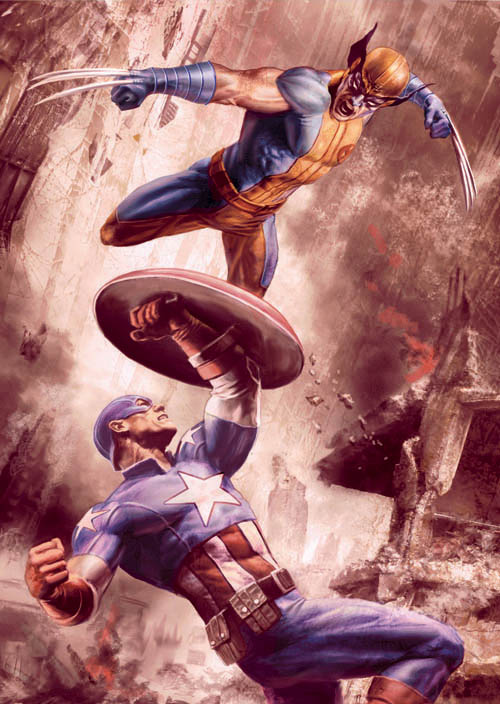 WOLVERINE / CAPTAIN AMERICA – WORLD WAR III