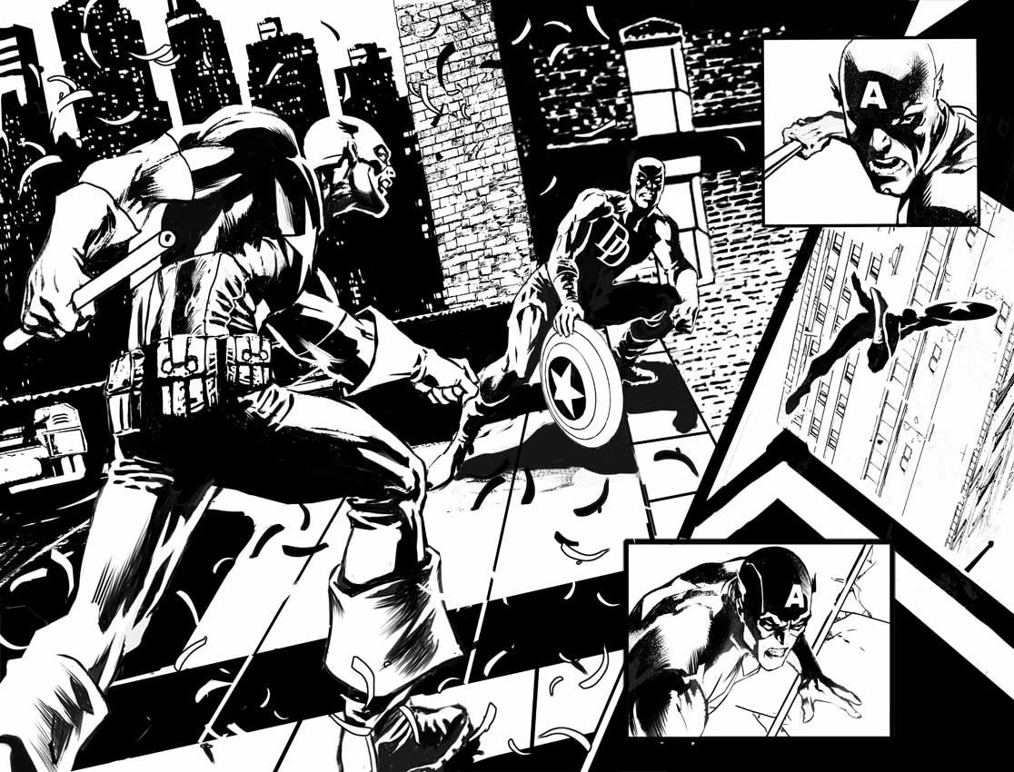 DAREDEVIL / CAPTAIN AMERICA – pages 2-3